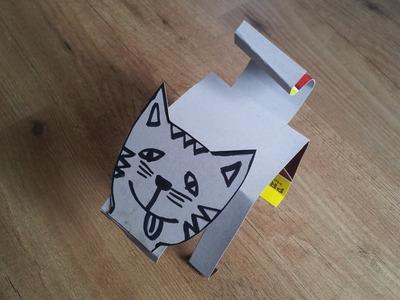 Manualidades con niños: Gato en 3D | facilisimo.com