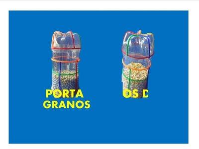 Manualidades con reciclaje - Manualidades con botellas pet