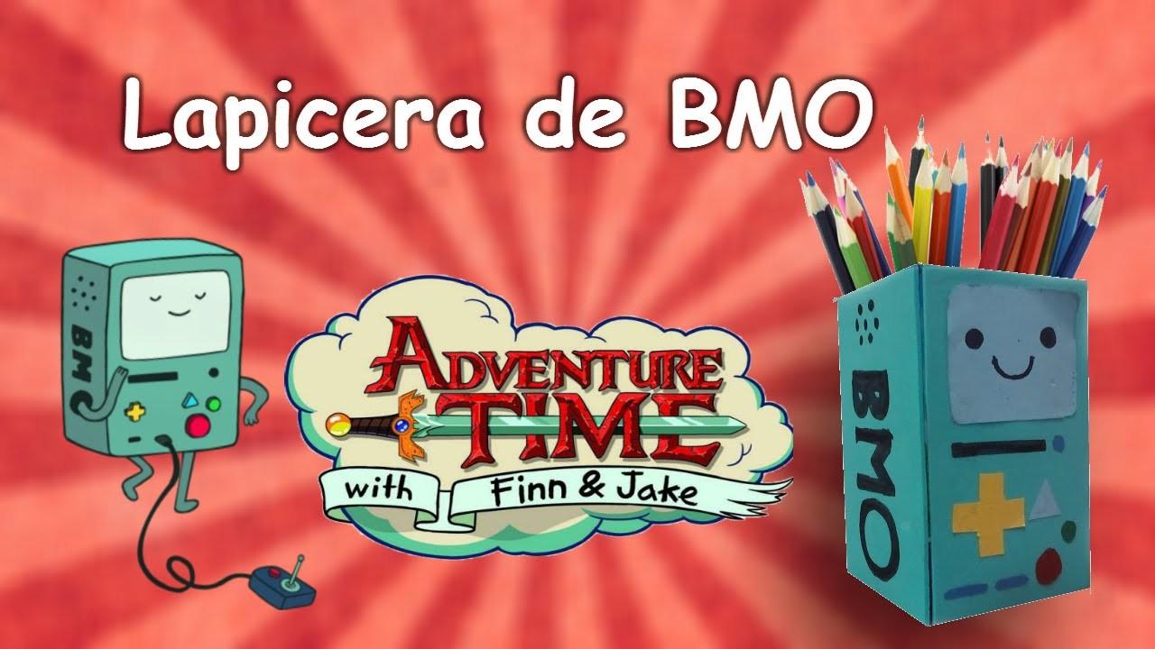 Manualidades para niños. lapicera de BMO - Hora de Aventura