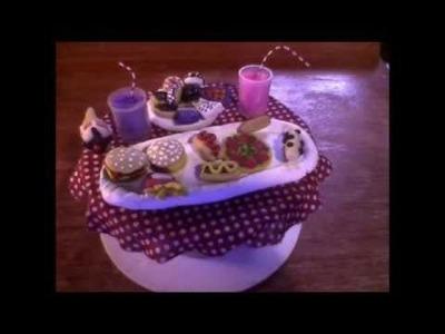 Mi Coleccion de Comidas para Muñecas | Hechas de Porcelana.