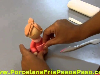 Nenita en Porcelana Fria - Parte 2. Little Girl en Cold Porcelain