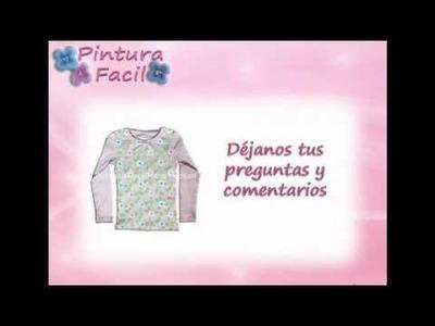Pintar con Plantillas - Pintura Facil Para Ti.wmv