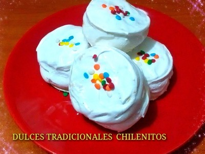 RECETA: CHILENITOS  DULCES CASEROS - Silvana Cocina y Manualidades