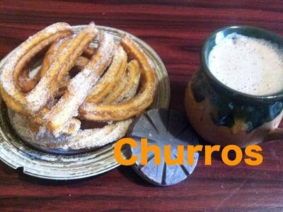 Receta de churros mexicanos, como hacerlos paso a paso - La receta de la abuelita