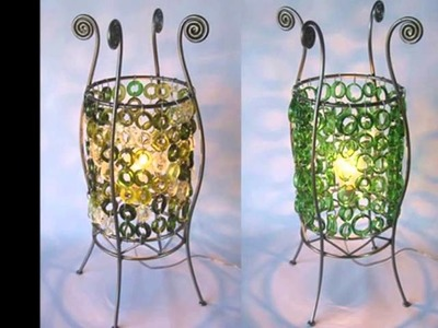 Reciclaje de botellas de vidrio