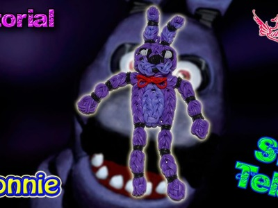 ♥ Tutorial: Bonnie de gomitas de Five Nights at Freddy's (sin telar) ♥