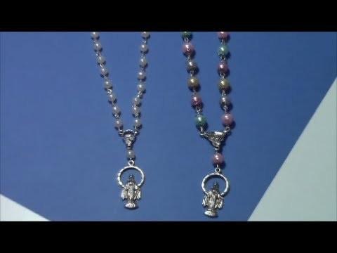 Tutorial como hacer un rosario. tutorial how to make a rosary
