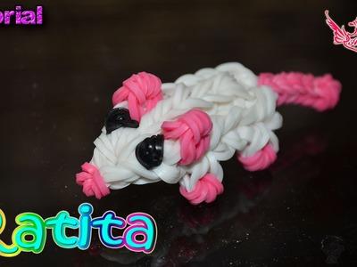 ♥ Tutorial: Ratita en 3D (sin telar) ♥