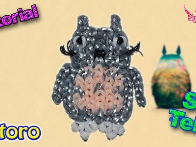 ♥ Tutorial: Totoro de gomitas (sin telar) ♥