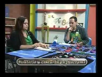 CINTURÓN EN MACRAMÉ Y BISUTERÍA on Vimeo