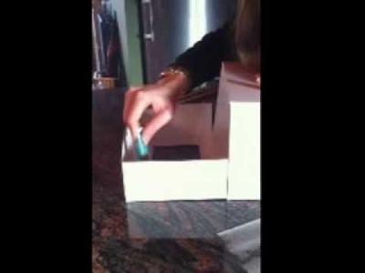 Hacer una caja para cupcakes