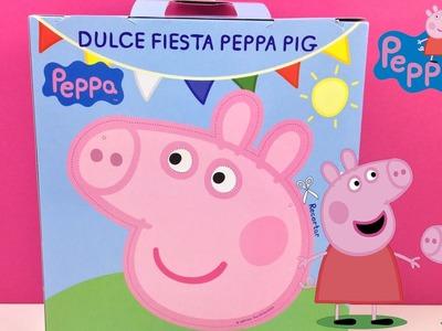 Peppa Pig Caja Sorpresa en español - Dulce Fiesta | Juguetes de Peppa Pig | Peppa Pig toys
