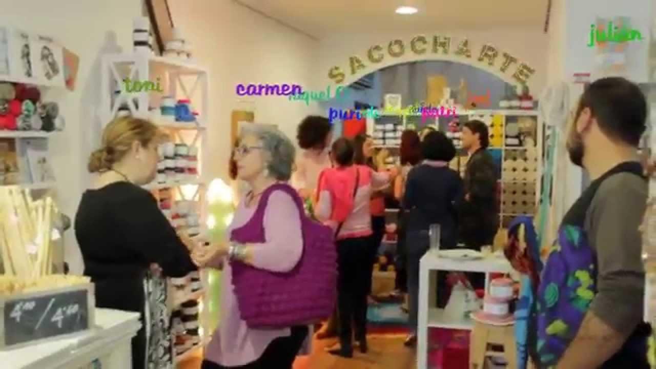 Trapillo. t-shirt yarn store: de fiesta en el local! by Sacocharte