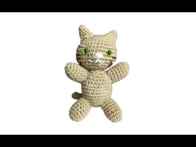 Tutorial Gato Amigurumi Cat (English subtitles)