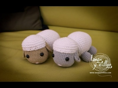 Tutorial Oveja Amigurumi Sheep (English subtitles)