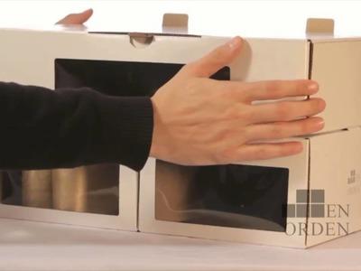 Caja de zapatos, ordenar zapatos ¿Queres saber de que se tratan las cajas de EnOrden?