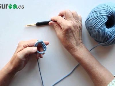 Cómo hacer el anillo mágico en ganchillo