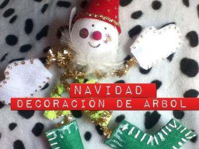 Como hacer un adorno para Árbol de Navidad Fácil decoración esfera colgante Christmas Ornament
