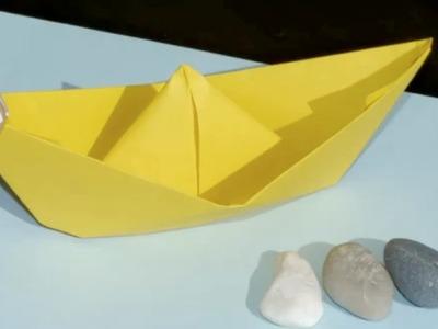 Cómo hacer un barco de papel - Manualidades para niños