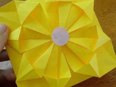 Como hacer una Flor-Carta