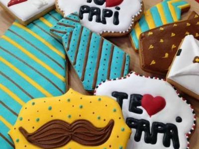 Consiente a papá con unas deliciosas galletas decoradas