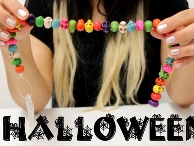 DIY Collar para Halloween. Accesorios de Moda - Hablobajito