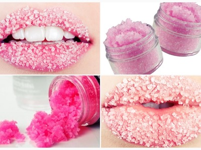 DIY: Exfoliante y Bálsamo labial casero! Repara LABIOS! Como reparar los labios resecos!
