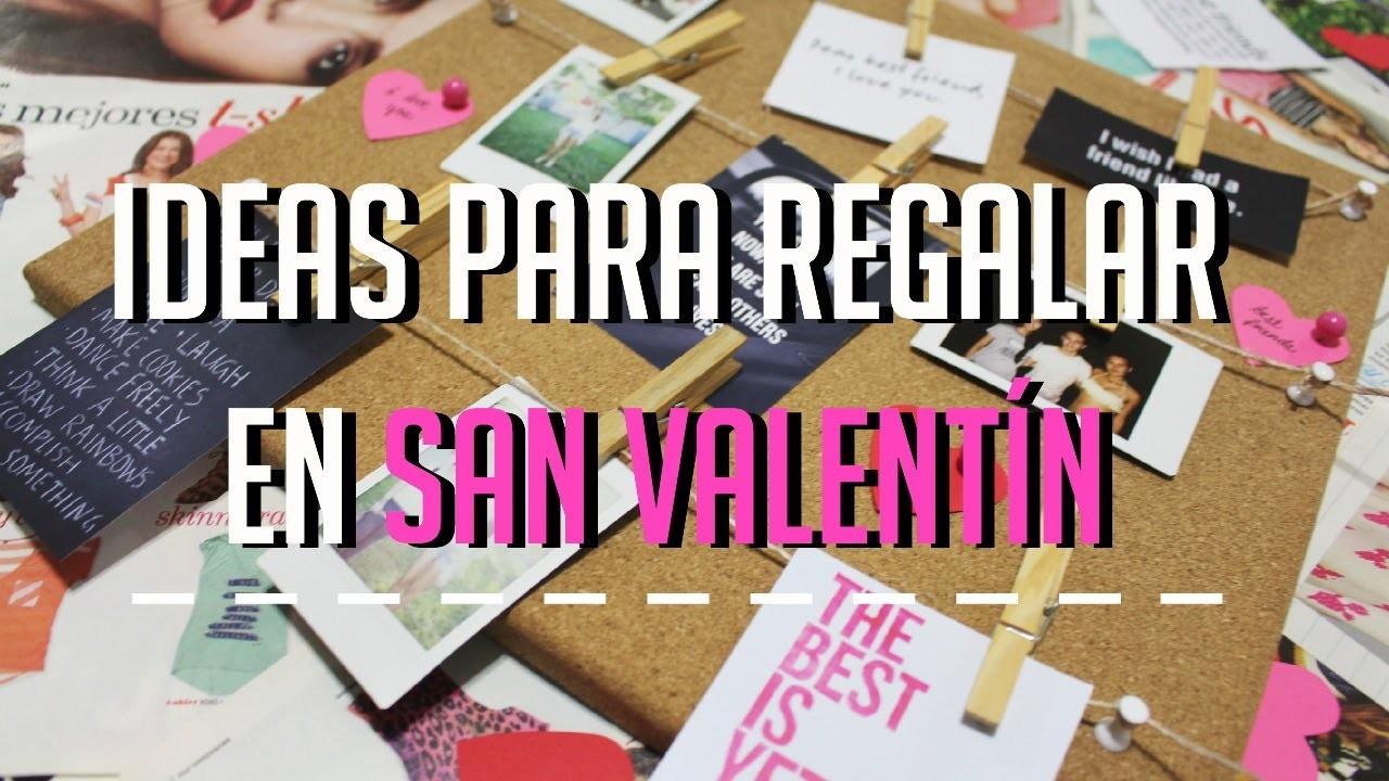 DIY: Ideas para regalar en San Valentín♡