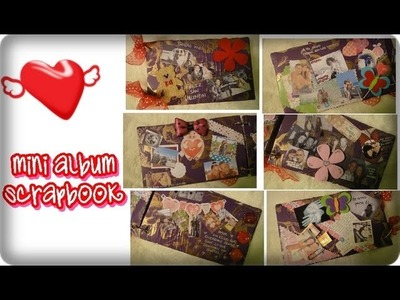 Manualidad: Mini album Scrapbook ✿ xiqittina ✿