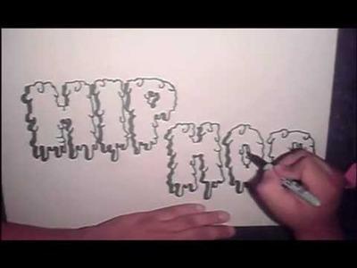 Modacalle Como dibujar letras en graffiti paso a paso