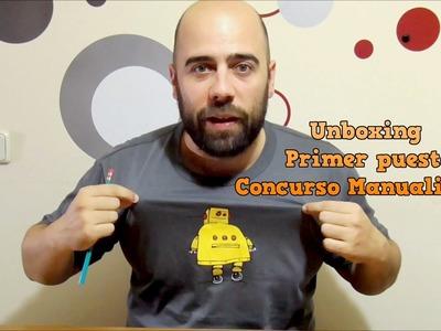 Unboxing primer premio en  Concurso de Manualidades con el mueble Disney