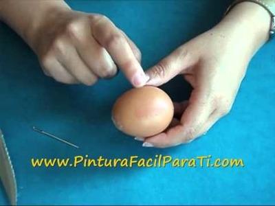 2 Preguntas Frecuentes Huevos de Pascua Como Vaciar Huevos de Pascua Pintura Facil Para Ti