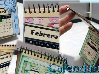 Calendario mini de sobremesa