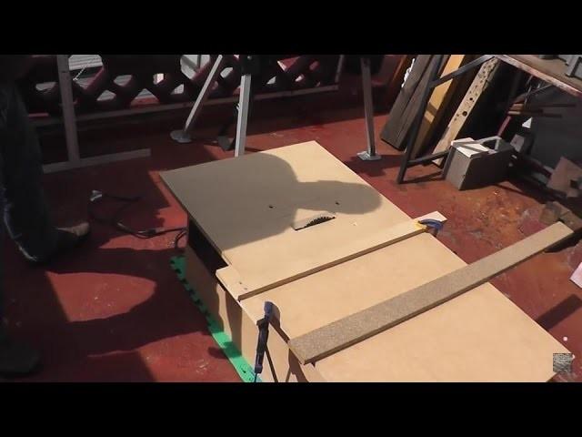 Como hacer una sierra de mesa