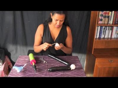 Como hacer una varita magica