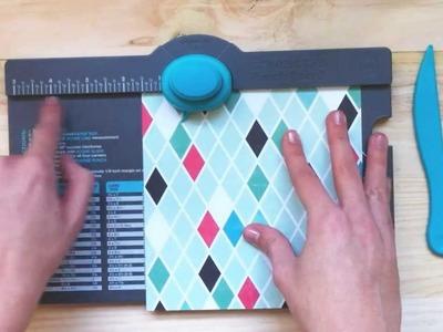 Cómo usar el 'Envelope Punch Board'