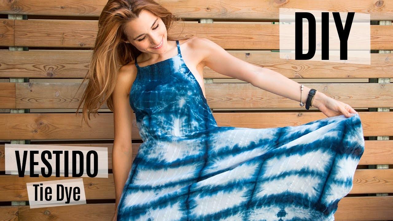 DIY Cómo transformar un vestido | Tie Dye Japonés