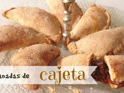 Empanadas de cajeta (dulce de leche),receta fácil