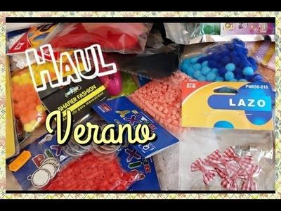 HAUL: Compras para Manualidades Julio '15