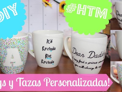 #HTM #DIY Mugs.Tazas.Pocillos PERSONALIZADOS!