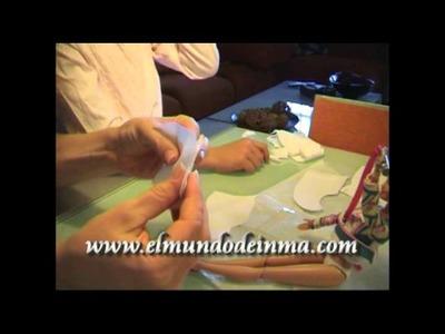 Manualidades: Como hacer una falda de picos para la Barbie
