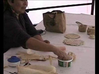 Manualidades - Reciclado con hola de Maiz o choclo (1 de 2)