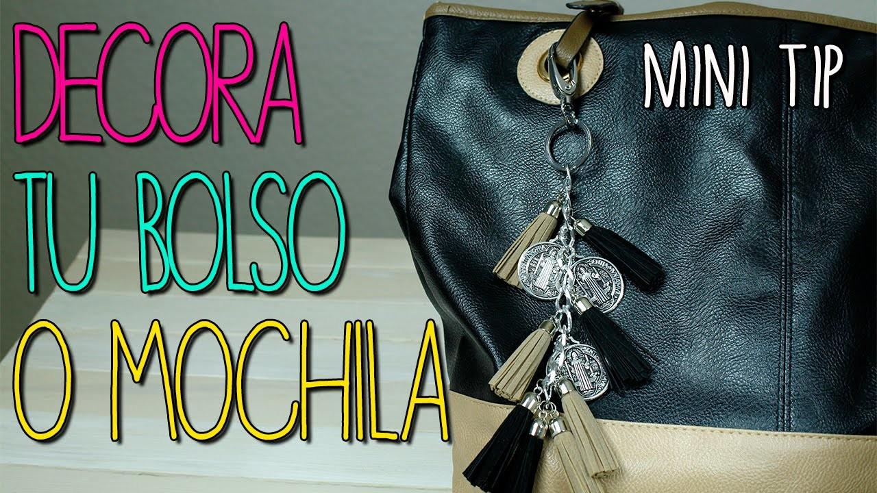 Mini Tip #12 - Decora tu Bolso - Accesorios de moda para Mochila o Bolsa