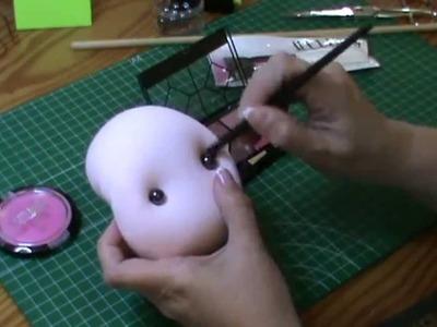 Muñeca completa 7ª parte y final: Maquillamos y terminamos