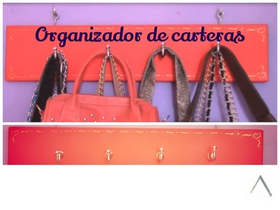 Organizador de carteras. D.I.Y. Organizador de bolsos