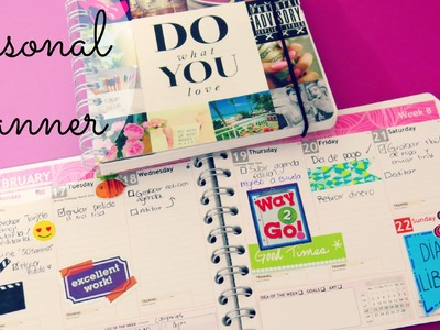 Personal planner (agenda)♥.haul,reseña,sorteo - marianalugowest