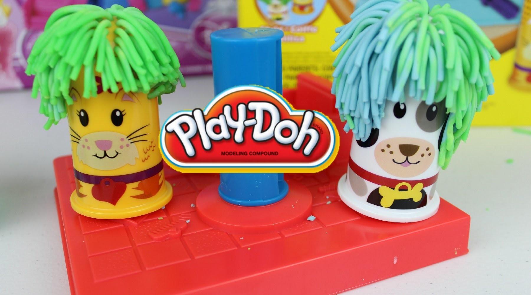 Plastilina Play Doh Peluqueria Para Mascotas|Play-Doh en Español Mundo de Juguetes