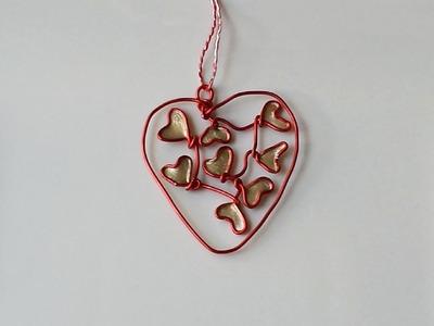 Cómo hacer adornos de corazón para Navidad | facilisimo.com