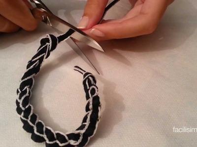 Como hacer una pulsera con un cordón | facilisimo.com