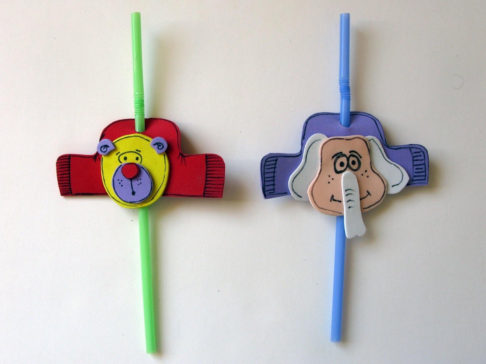Decoracion de fiestas infantiles - sorbete personalizado - Manualidades para todos